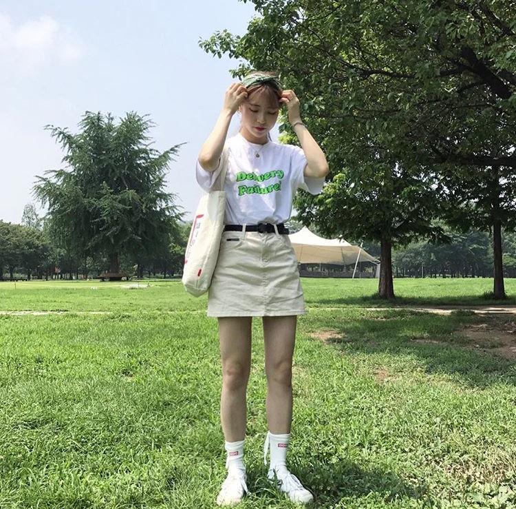 春 ピクニック 韓国女子