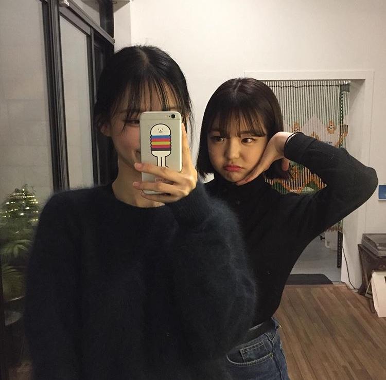 韓国女子 iPhoneケース