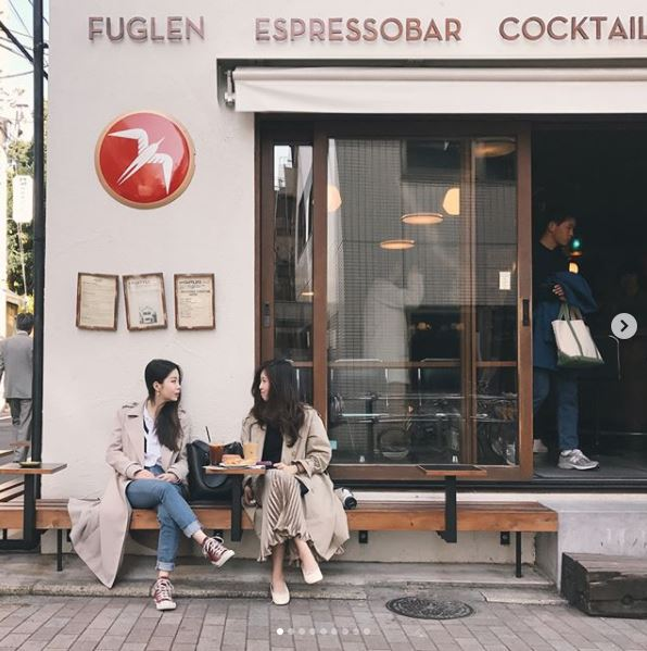 東京 韓国人観光客に人気のカフェ