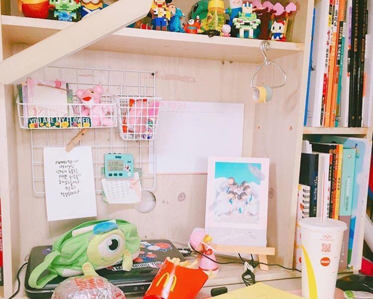 韓国女子から学ぶオルチャンの部屋みたいに可愛くする100均diy方法