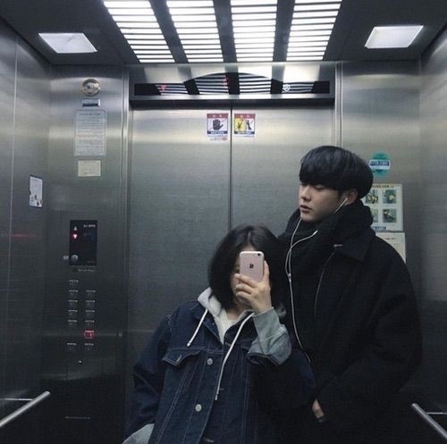 韓国カップル