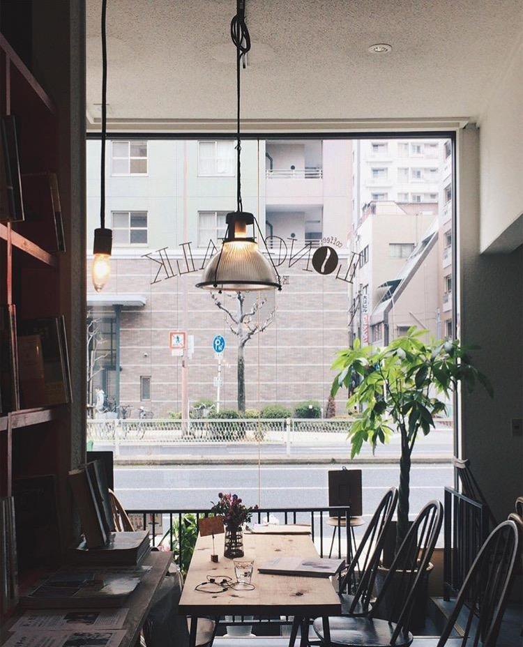 Long Walk Coffee 店内