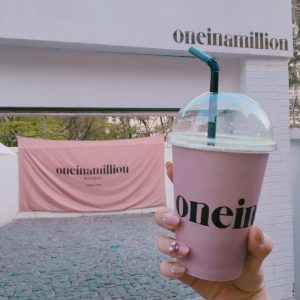 one in a million カフェ