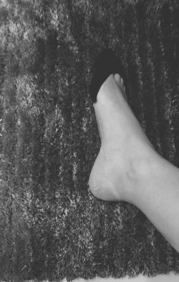 靴下試着画像