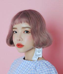 ピンク ボブ