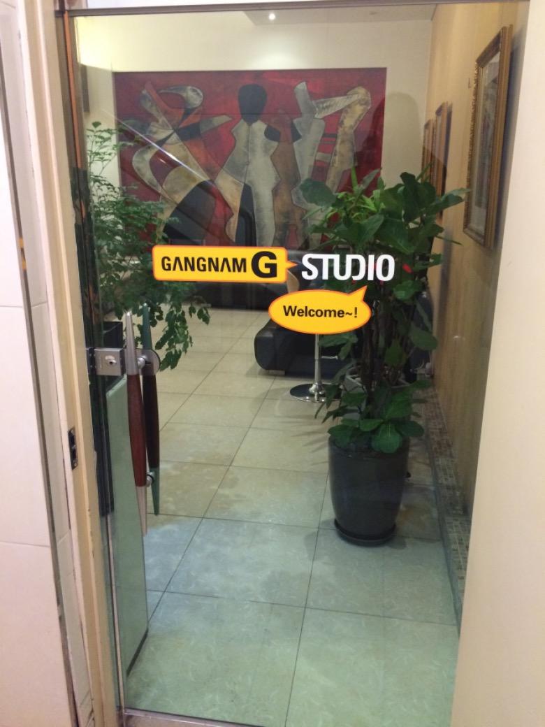 カンナムGスタジオ店舗