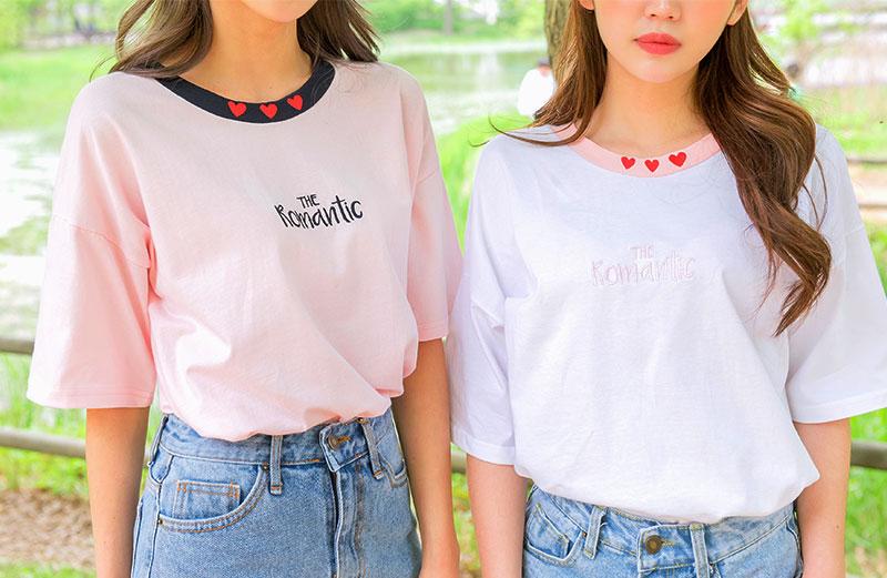 オルチャンファッション Tシャツ