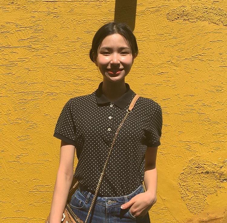 韓国女子 ポロシャツ
