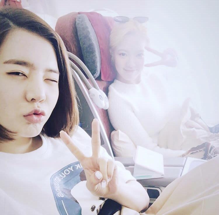 サニーとヒョヨン