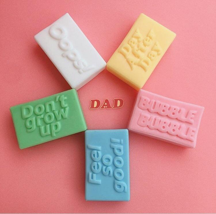 5つの石鹸