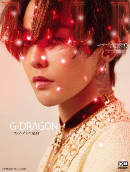 ELLE × G-DRAGON