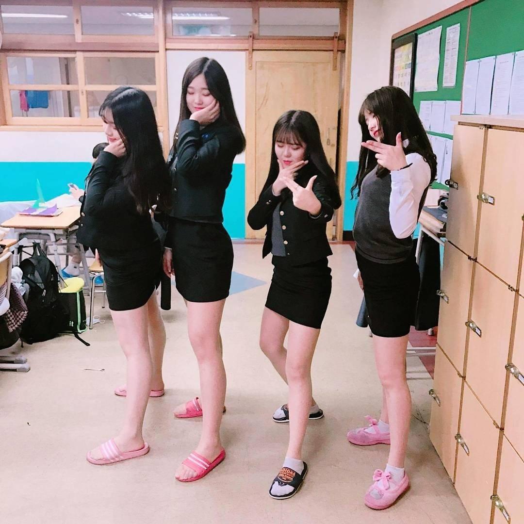 韓国 学生