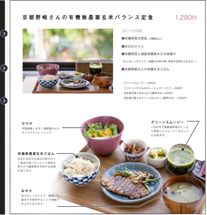 Cafe Mode 平日限定ランチメニュー