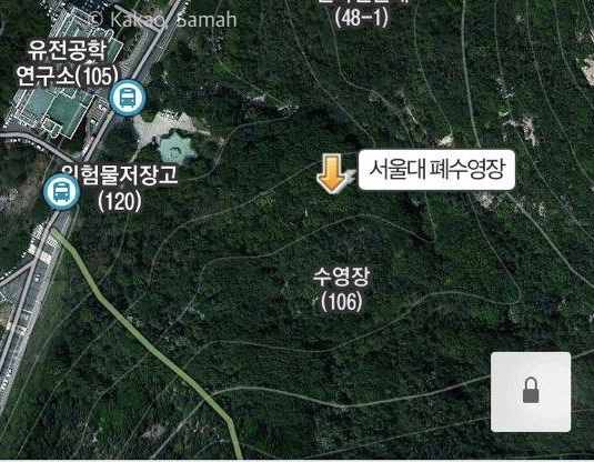 ソウル大学地図