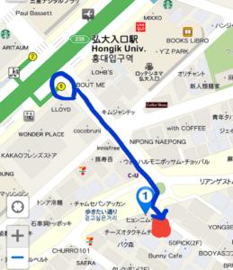 OZhouse地図
